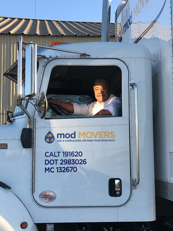 Mod Movers Truck Driver